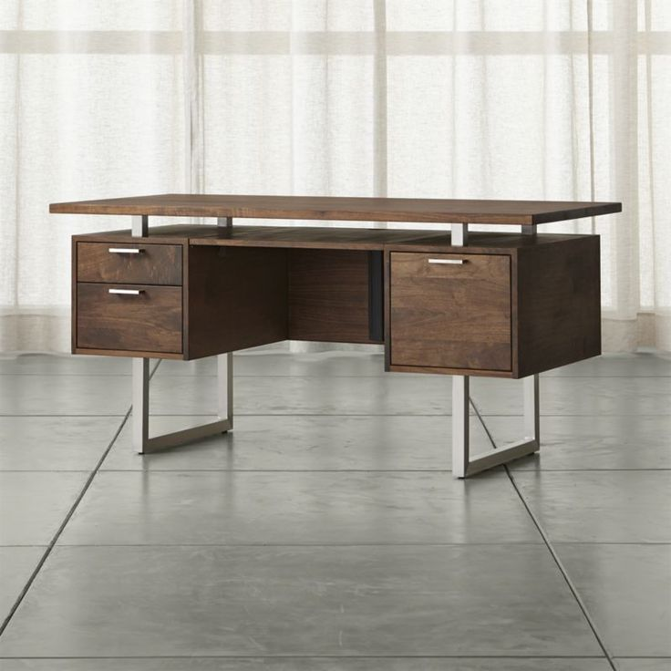 add style and to your home office with a desk from crate and barrel