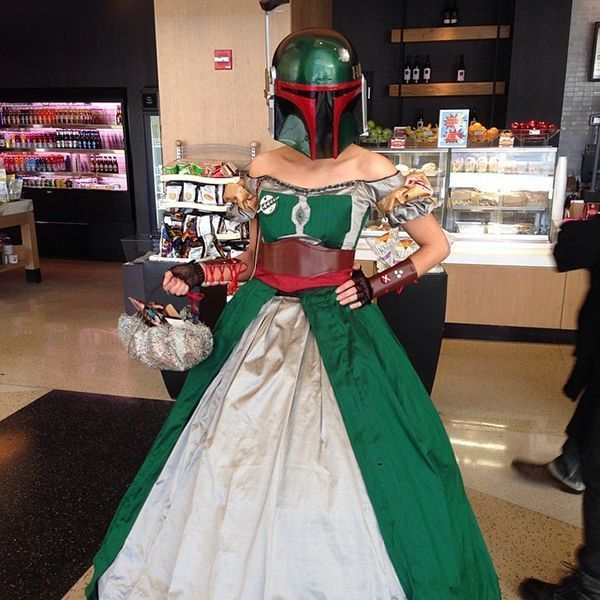 This Girl is the Envy of Her Class with This Star Wars Prom Dress Idea #popculture #trends trendhunter.com