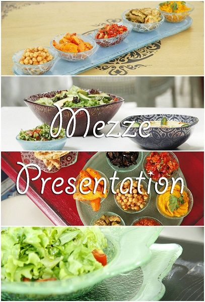"If Middle Eastern food is near to your heart or you are exploring the ""mezze trend"" then these mezze presentation ideas are for you!"