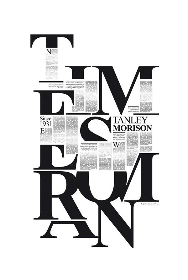 Times New Roman // Tribute to Stanley Morison.
