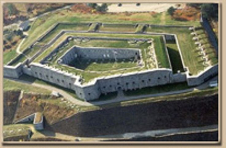 The Fort was named for Major General Henry Knox, America's first Secretary of War, who was born in Boston but retired to Thomaston, Maine in 1796. Description from fortknox.maineguide.com. I searched for this on bing.com/images