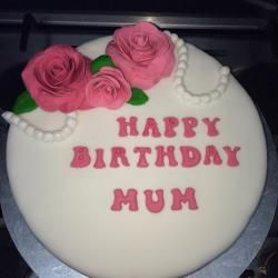 Large vanilla Madeira cake