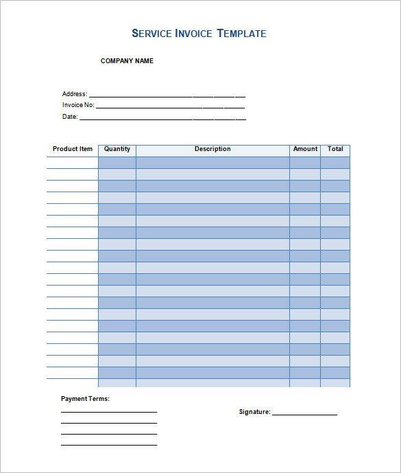 Cele mai bune 25+ de idei despre Invoice template word pe Pinterest - invoice formats in word