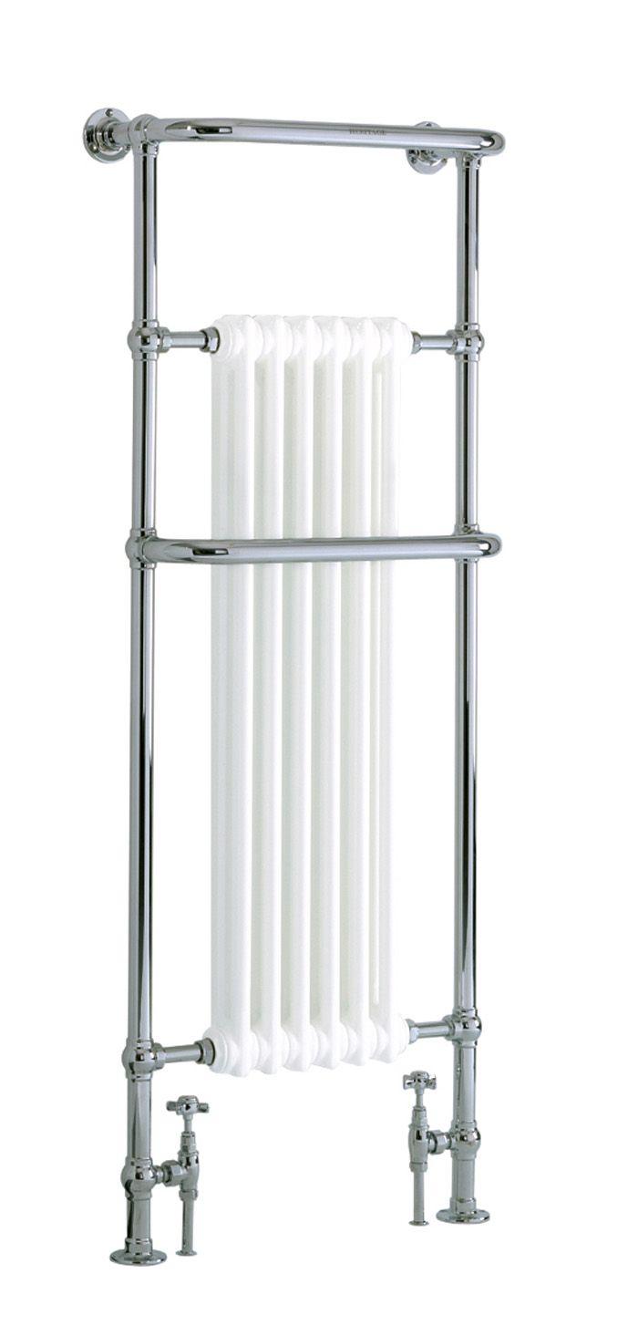 Cabot Heated Towel Rail Chrome | Heated Towel Rails | Heritage