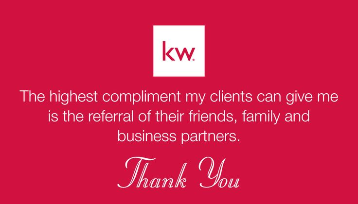 BACK-900R - KW Block Logo above phrase on red background. (For more Keller Williams Realty business card designs, visit AgentCards.biz)