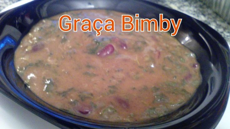 Bimby Truques & Dicas: Sopa de feijão e espinafres