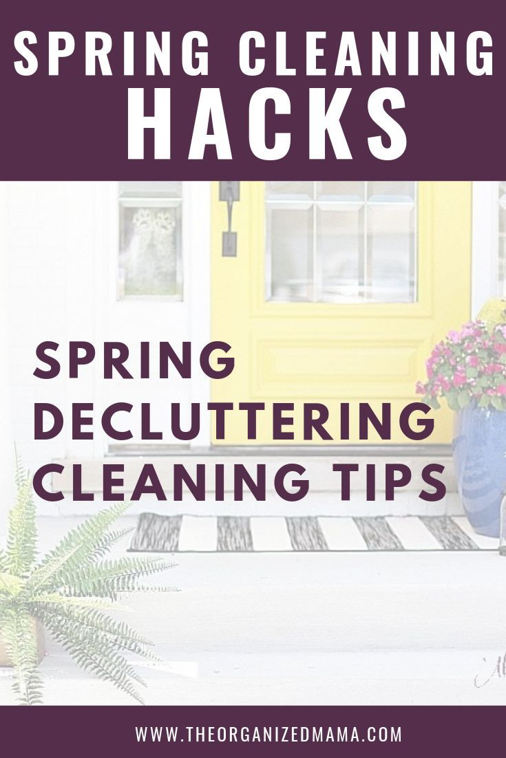 A Realistic Guide To Spring Cleaning