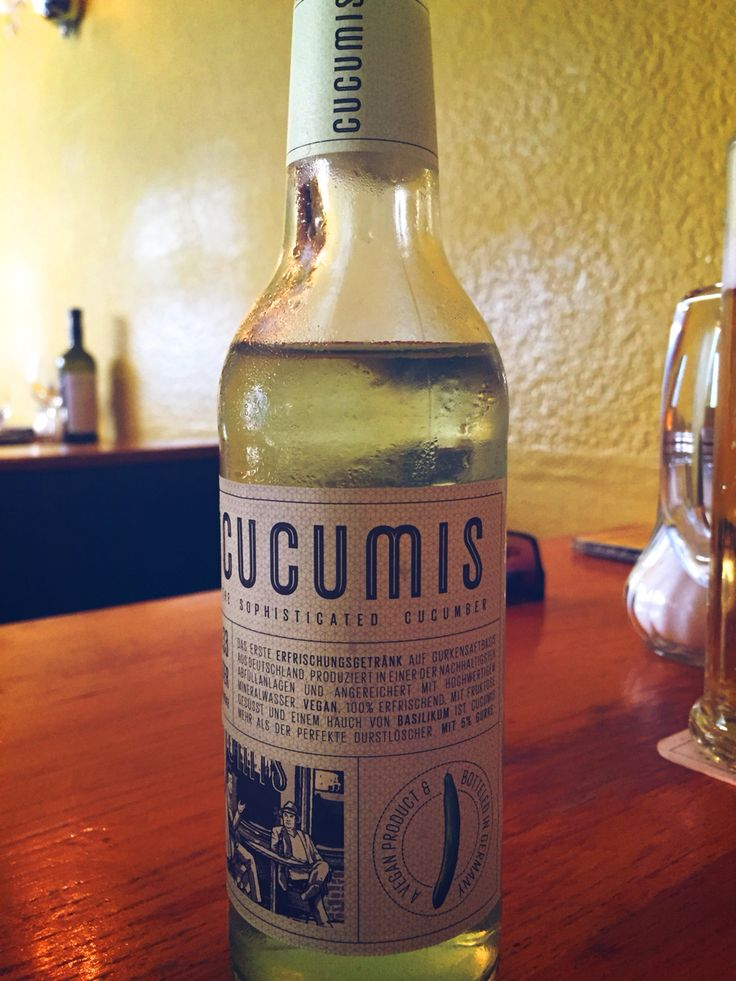 CUCUMiS - most refreshing drink ever