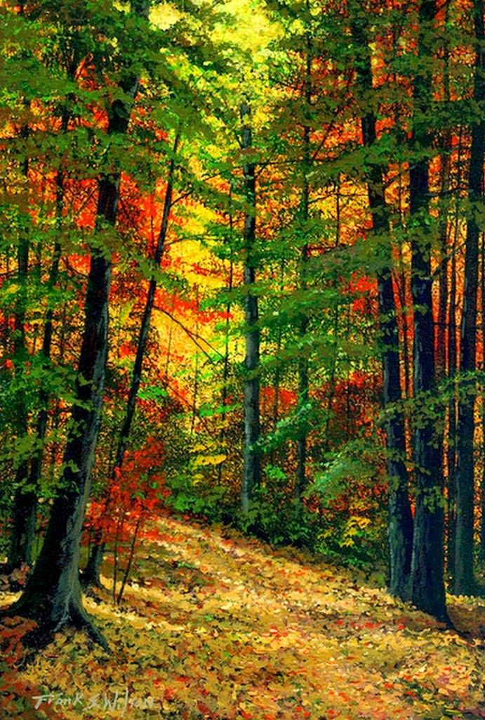 pinturas-al-oleo-paisajes-de-otoño                                                                                                                                                      Más