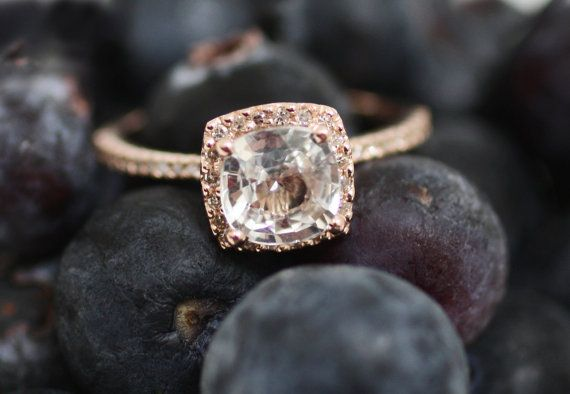 rose gold ring - so pretty