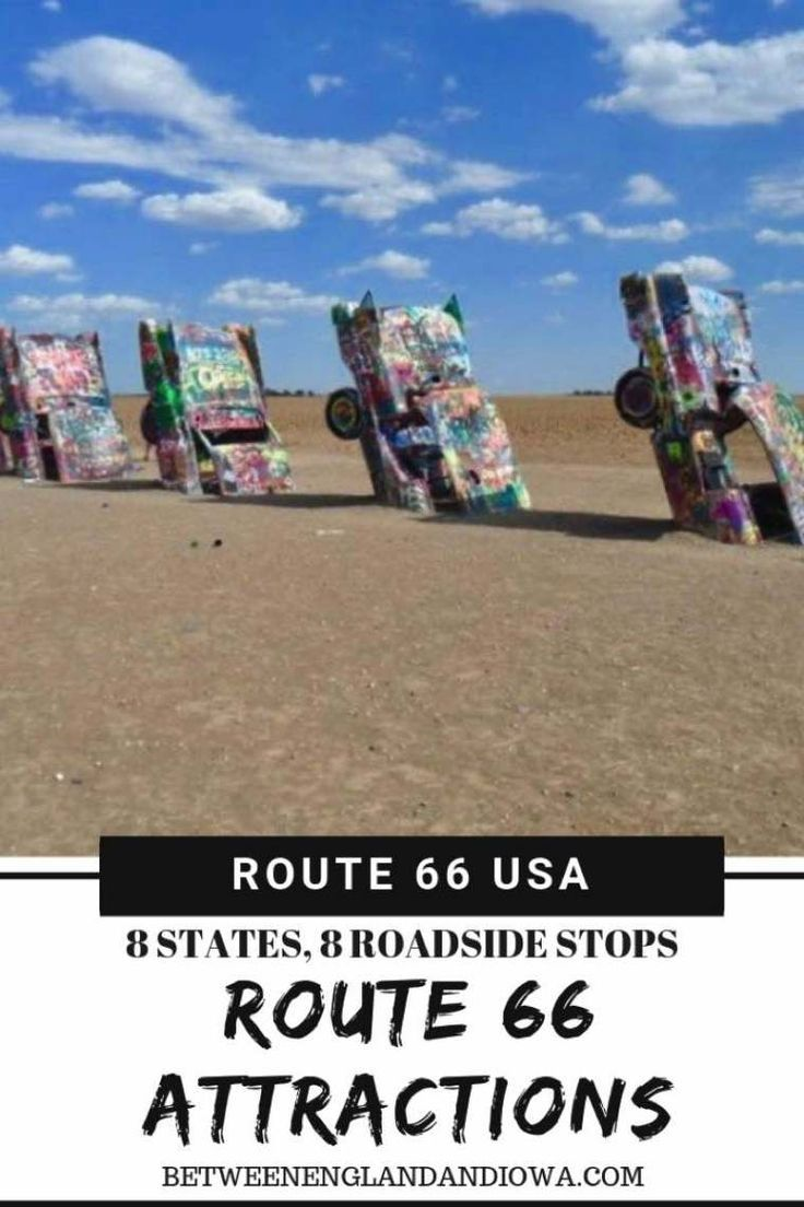 Rota 66 Atrações: 8 estados, 8 paradas na estrada   – Road Trip