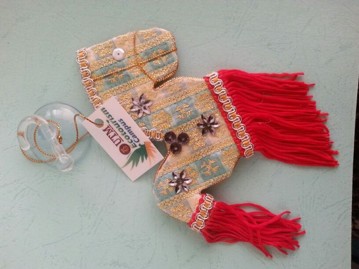 kuda kepang from songket as a souvenirs