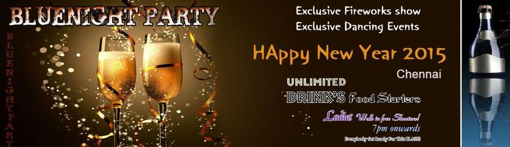 Bluenight Party - New Year Party in Chennai on December 31, 2014