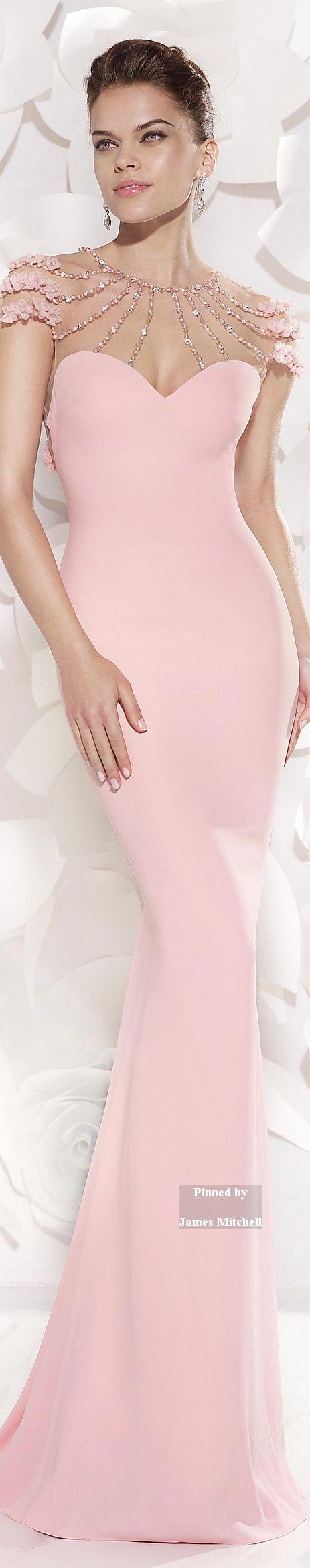 Tarik Ediz Collection 2015 | pink gown