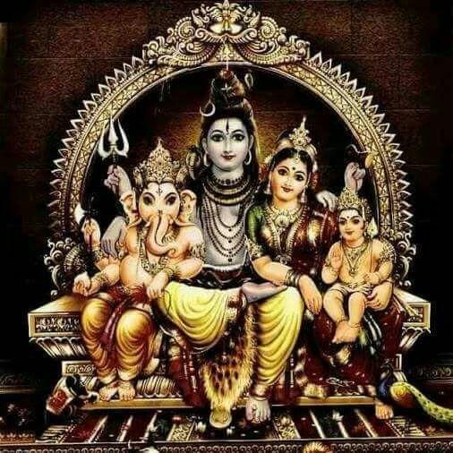 Mi familia cósmica. Om Namah Shivaya.