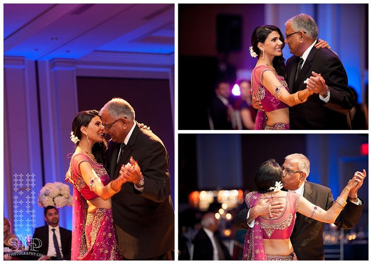 Couple dance is the most awaited dance of the evening so. Before you dance with your groom, dance with your father.