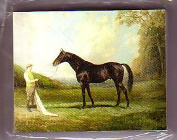 Horseracing Limited Edition Trading Card set Earl of Derby Racehorse Paintings