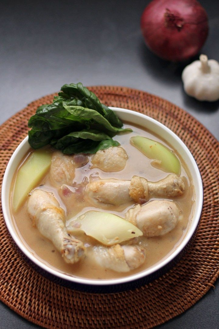 knorr chicken tinola recipe leaves