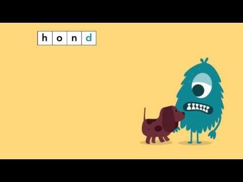 Spellinganimatie Taal actief: eind-d - YouTube