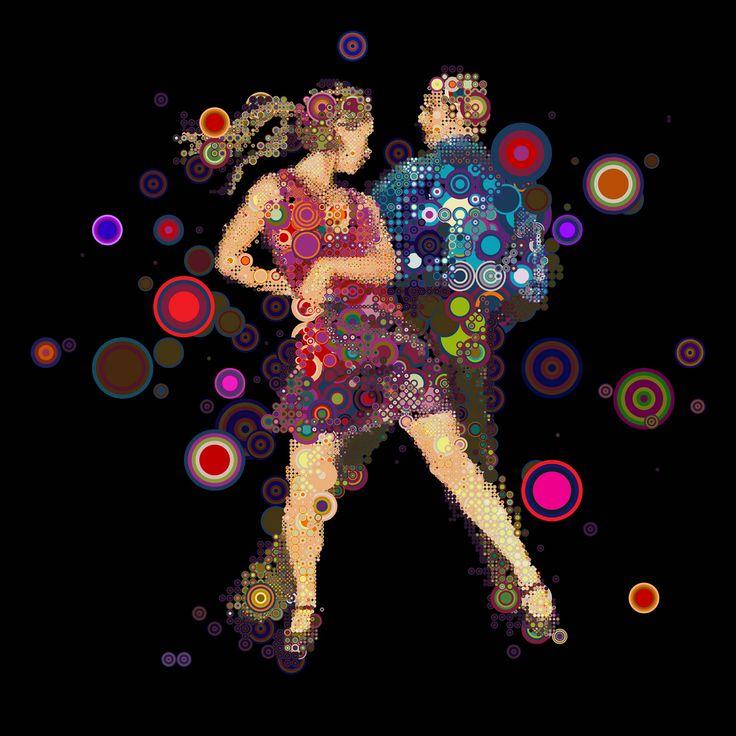Incredible Work of Charis Tsevis #mosaic #dance #art
