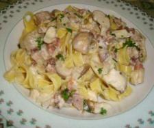 Ricetta tagliatelle alla boscaiola pubblicata da wlapappa - Questa ricetta è nella categoria Primi piatti