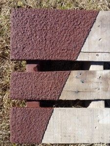 Armour Renew Deck or Concrete. This is an AMAZING PRODUCT that is also available in a smooth texture. Large variety of colors are available.