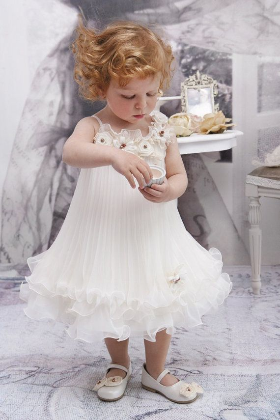 Chrinstening Dress Christening Gown Ivory by StyledByAlexandros