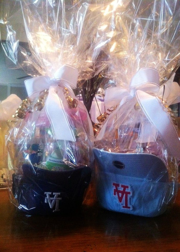 7 best easter images on pinterest easter gift ideas and presents diy easter basket with baseball hats diy easter gift ideas handmade easter table decor negle Image collections