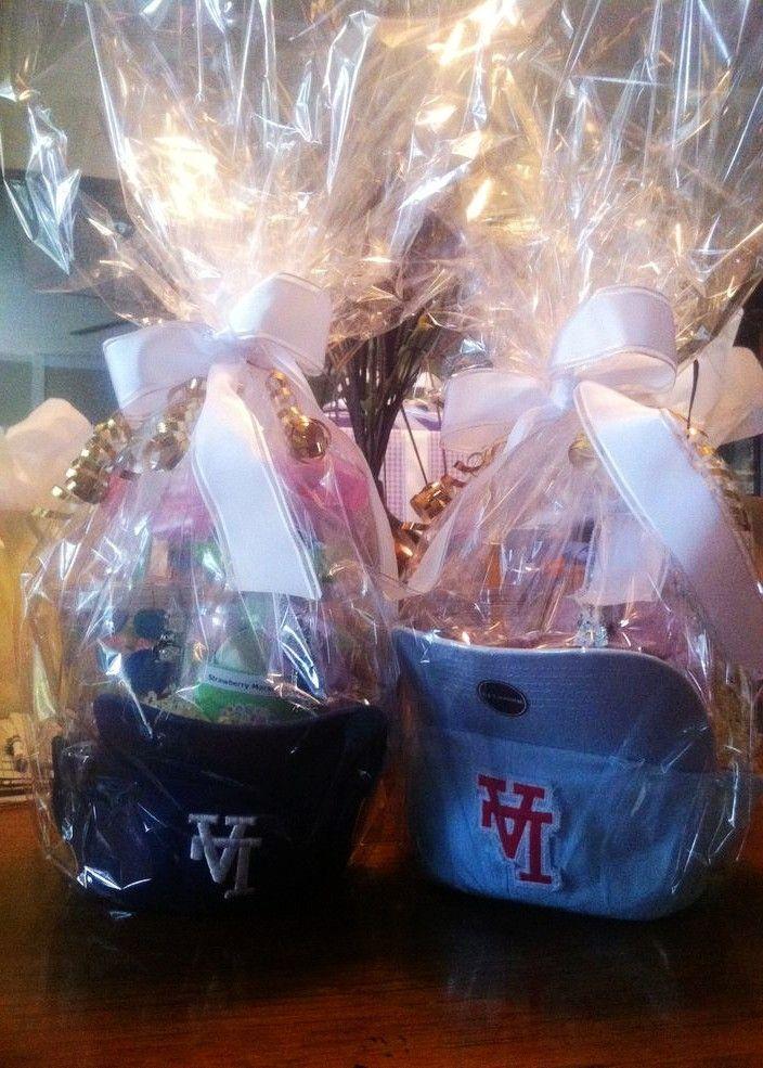 DIY Easter basket with baseball hats, DIY Easter Gift ...