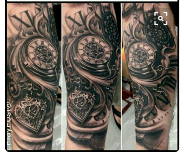 Les 38 meilleures images du tableau tatouage alexis sur pinterest designs de tatouage - Tatouage horloge homme ...