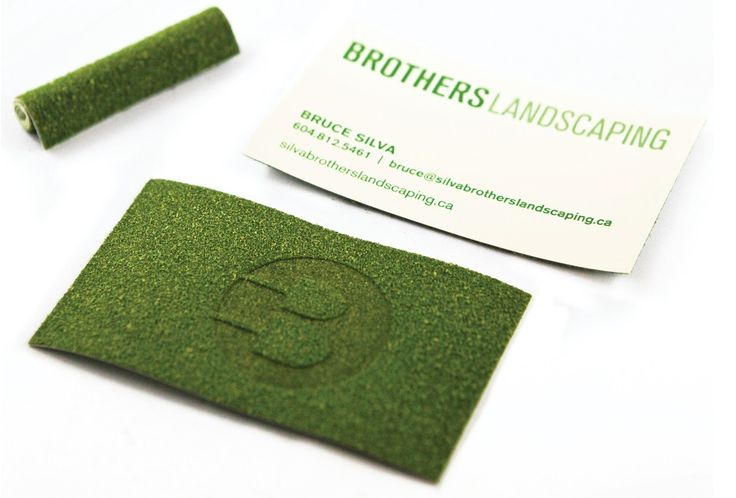Brothers Landscaping : Turf Business cards