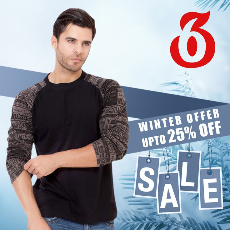 #SALE #WinterOffer #FreshArrivals Get upto 25% OFF on #Sweatshirts #Shirts #Jeans #Tshirts #360MyTrip will also be applicable..