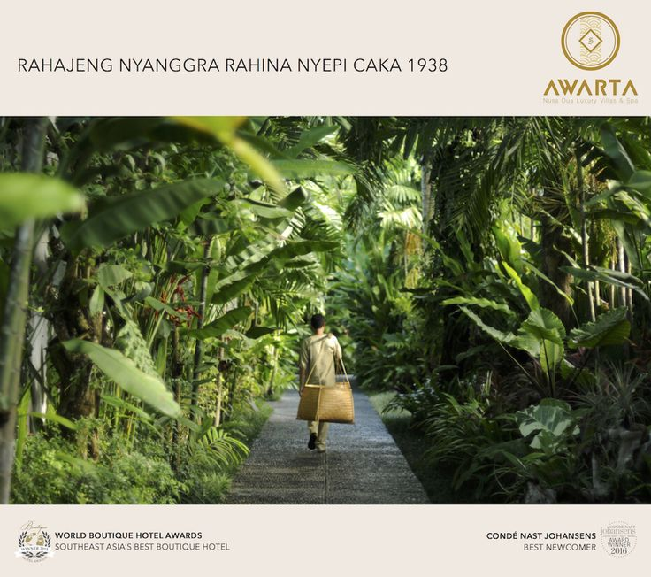 Wishing you a peaceful #Nyepi from your home in #Bali #Indonesia