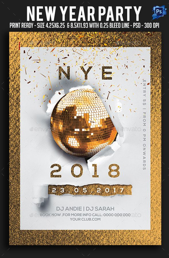 82 best New Year Party Flyer Templates images on Pinterest Party - event flyer examples