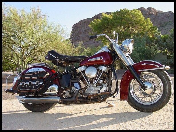 Harley Davidson: 1949 Harley-Davidson FL Panhead #Mecum #LasVegas