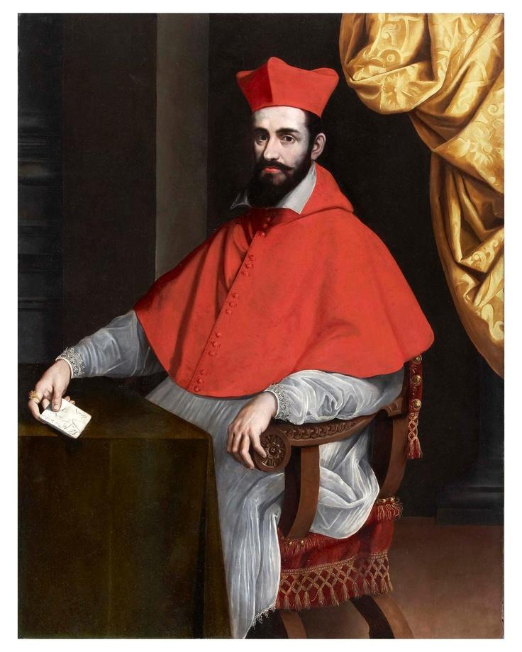 Portrait of a Cardinal, by Pietro Facchetti | Cardinals ...