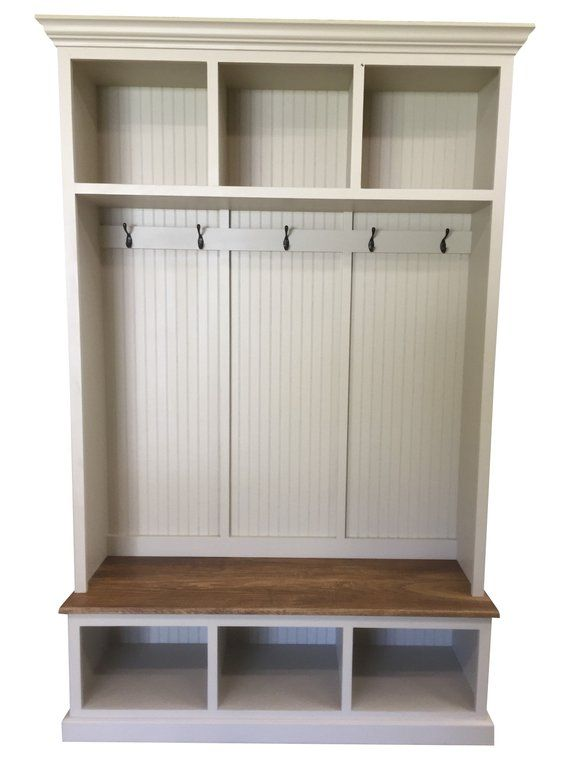 The Pennsylvania 2 Section Mudroom Bench Entryway Bench Storage Coat Rack With Storage Entryway Shoe Storage