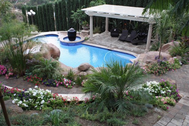 What A Beautiful Natural Looking Pool Fl Landscaping