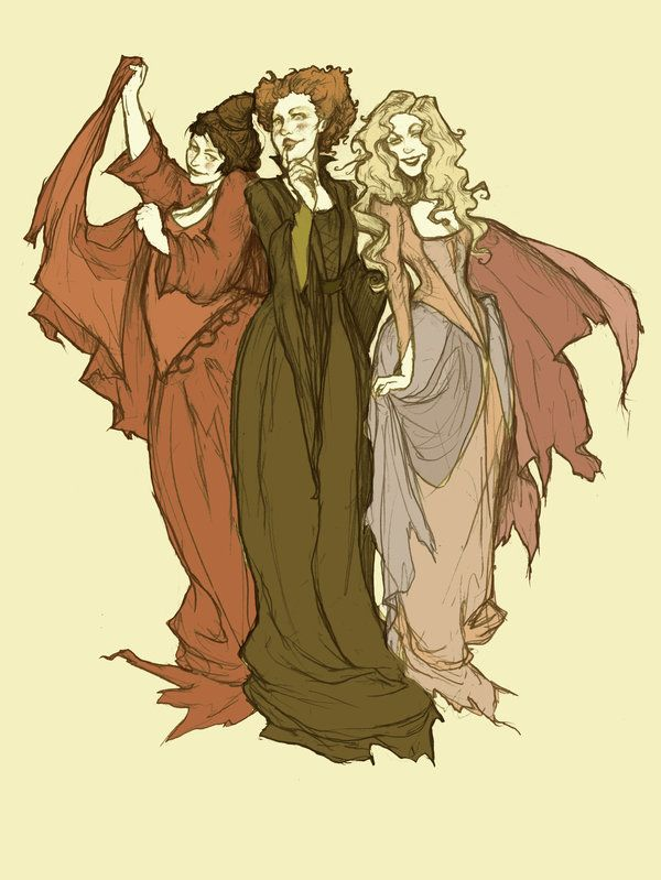 Just a Bunch of Hocus Pocus by AbigailLarson.deviantart.com on @deviantART