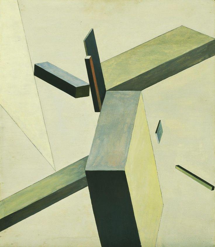 Modernism - El Lissitzky, Composition, 1922