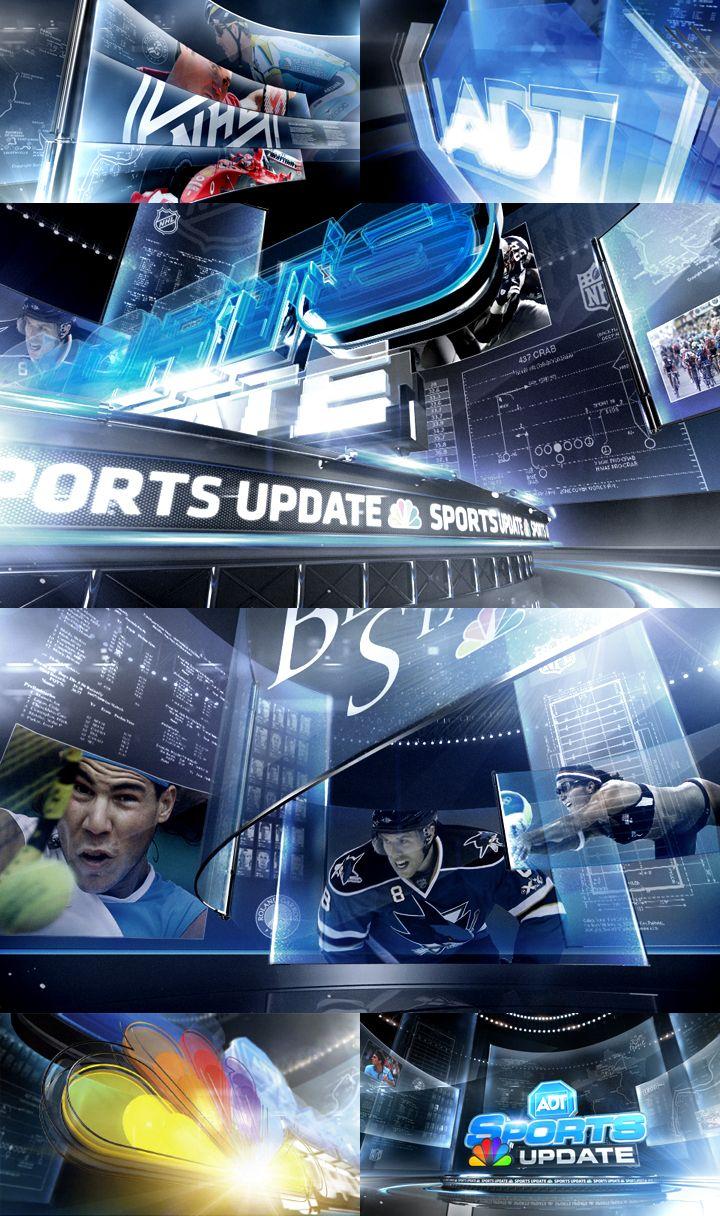 Seton Kim - Creative Direction - NBC ADT Sports Update http://setonkim.com/Assets/2011/nbcssu_main.html