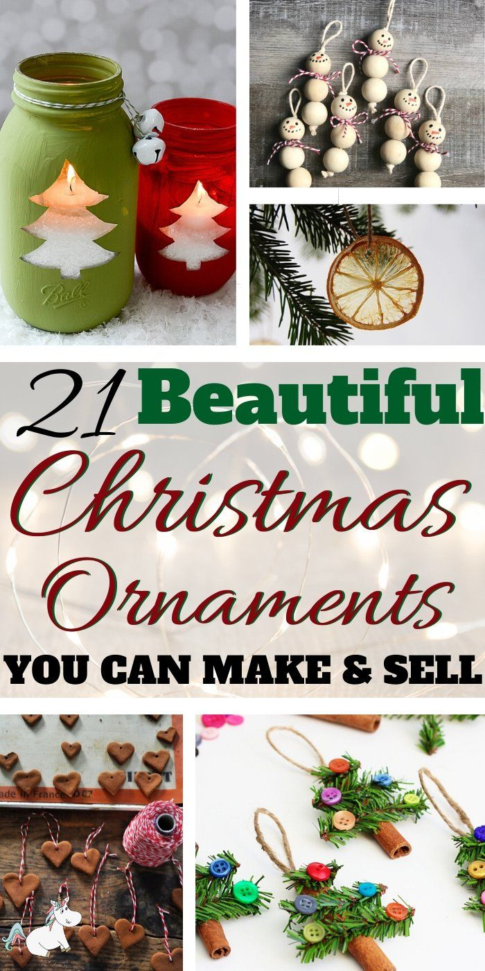 22 Easy Christmas Ornaments To Make And Sell New For 2020 The Mummy Front Christmas Ornaments To Make Christmas Crafts To Sell Make Money Christmas Ornaments