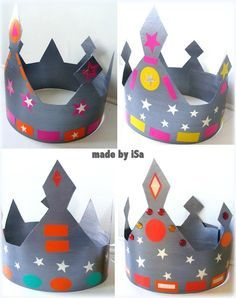 Couronnes Rois - made by iSa                                                                                                                                                     Plus