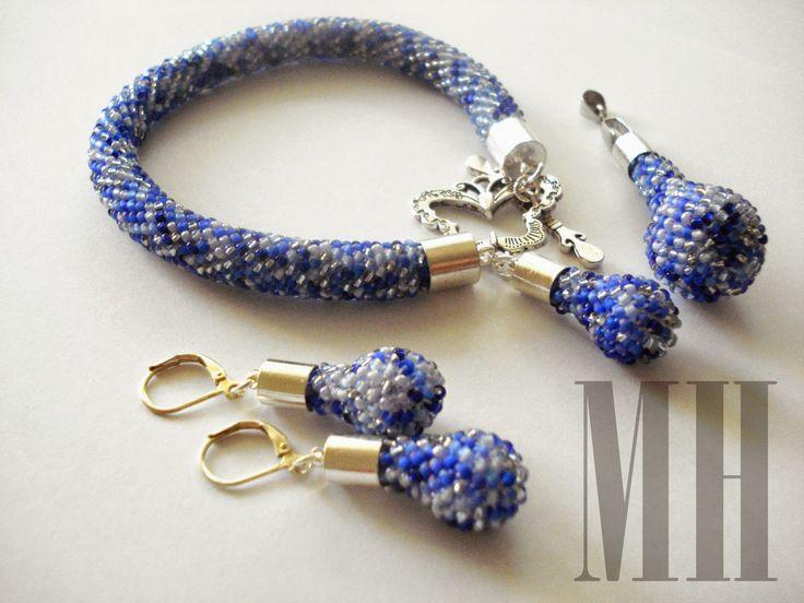 Niebieski melanż | MH Biżuteria - cuda ręcznie wykonane