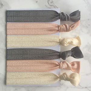 6-Elastic-Creaseless-Hair-Ties-Bracelets-Stretch-Ponytail-Holder-Accesories