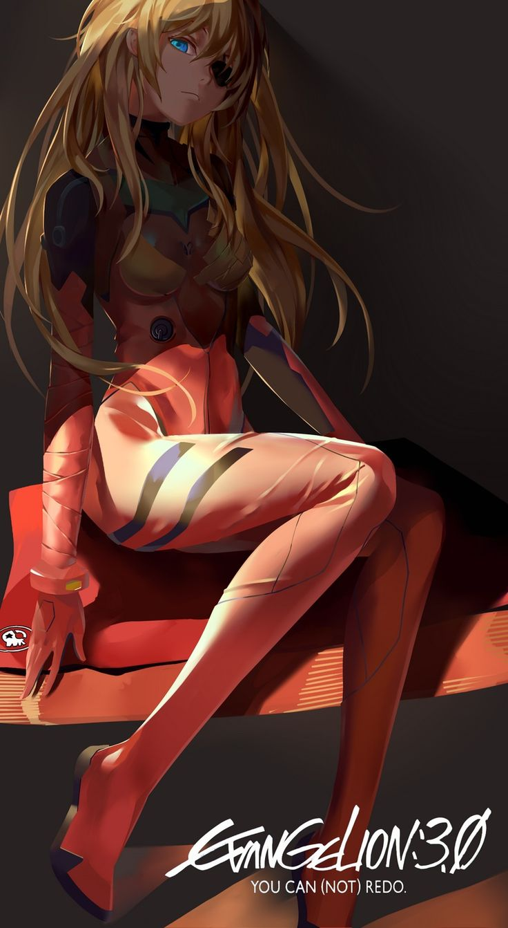 Evangelion - Asuka Q by LighTofHeaveN
