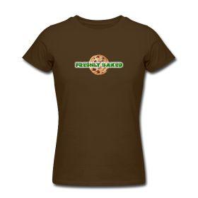 Freshly Baked Merchandise Ladies T Shirt Brown