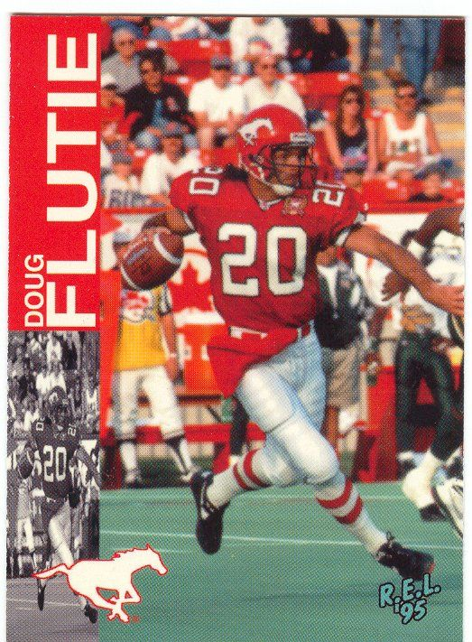 Doug Flutie (1992-95 with the Stamps)