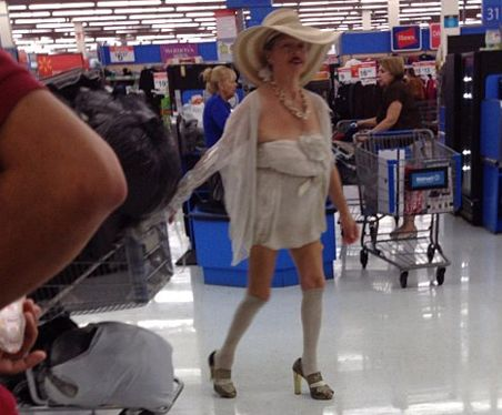 """I'm Still Laughing """"Stay Classy People of Walmart"""" - Funny Pictures at Walmart~ Maybe she is a Prostitute mgr.~ LOL"""