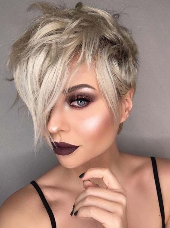 Cute Blonde Pixie Haircuts For Women For Gorgeous Looks In 2018
